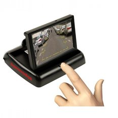 Monitor desplegable para coche