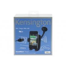 Kensington Sound Amplifying Cradle & Car Charger - cargador/soporte para coche